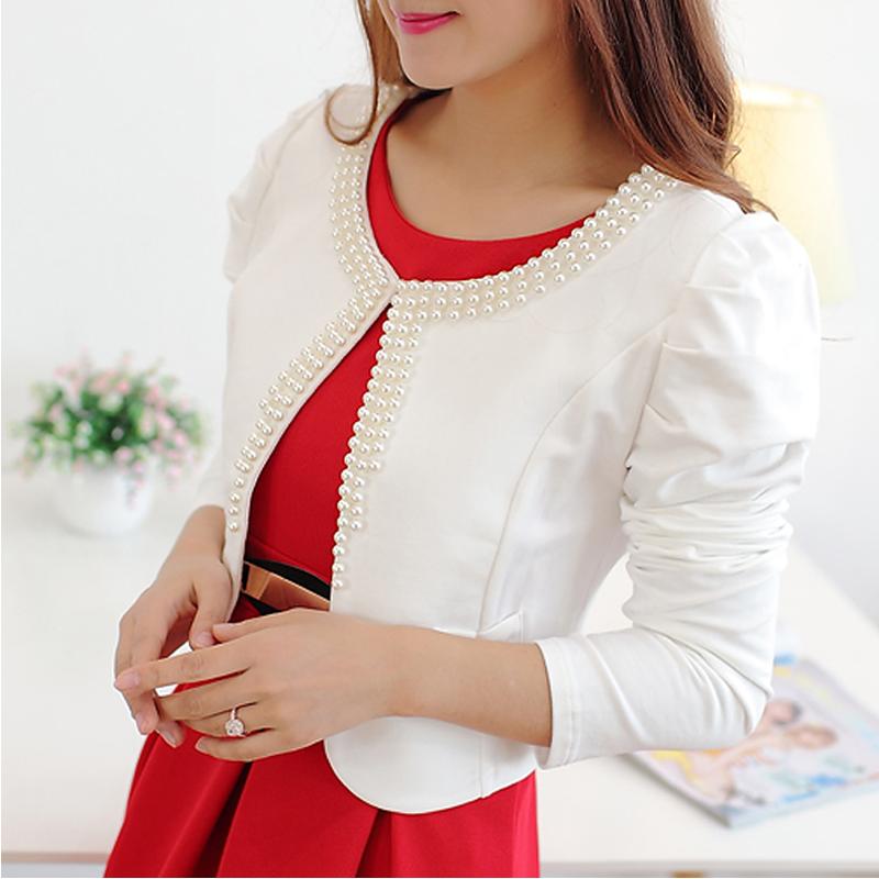 2017新款韩版小西装女薄短款外套
