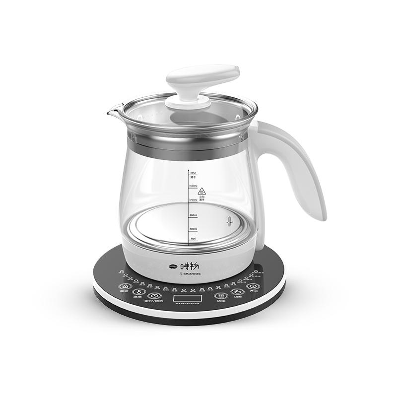 时物养生壶全自动加厚玻璃多功能电热烧水壶花茶壶煮