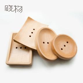 日式创意木质肥皂托盘香皂盒手工皂架实木卫生间厕所沥水肥皂架