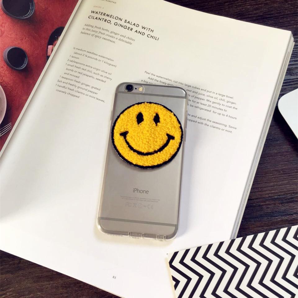 韩国笑脸 iphone6s手机壳7 透明防摔苹果6plus硅胶软壳5/5s全包潮
