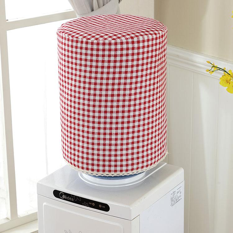 饮水机水桶罩套田园水桶防尘罩布艺蕾丝饮饮水机罩机