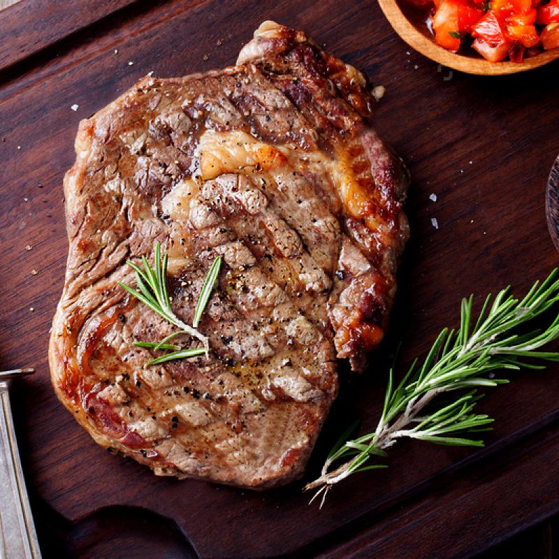 原切手工腌制牛排8片家庭牛排套餐团购厚切牛排1200g