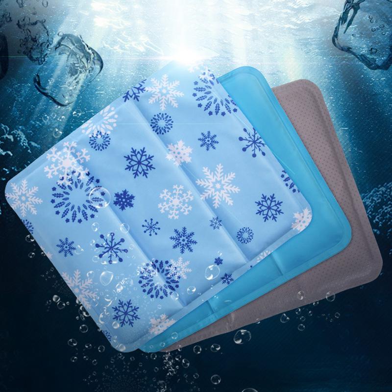 冰垫坐垫夏天冰袋冰枕头汽车椅垫降温冰晶凉垫冰沙学生成人非水垫