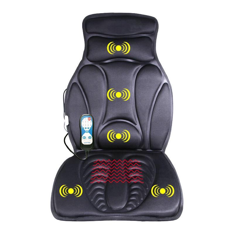健得龙按摩垫家用车载按摩椅垫全身多功能坐垫背部靠垫按摩床垫