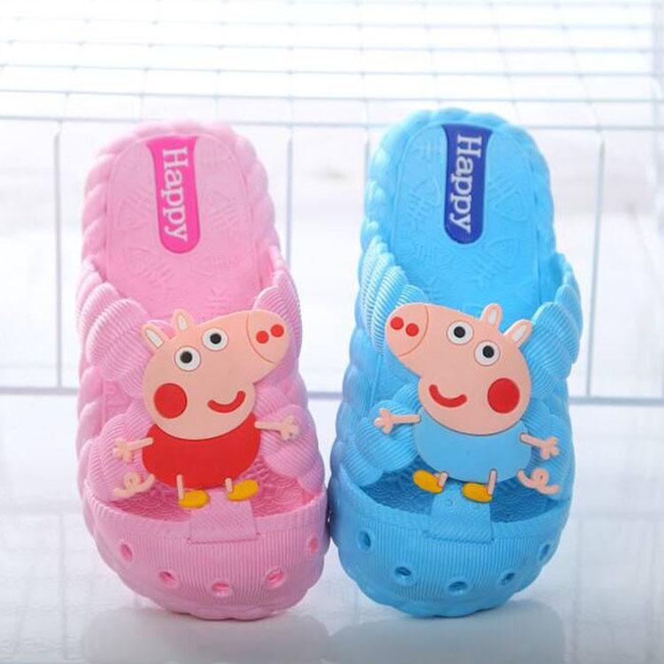 宝宝拖鞋夏女1-3-7岁防滑婴幼儿可爱小公主家用防滑