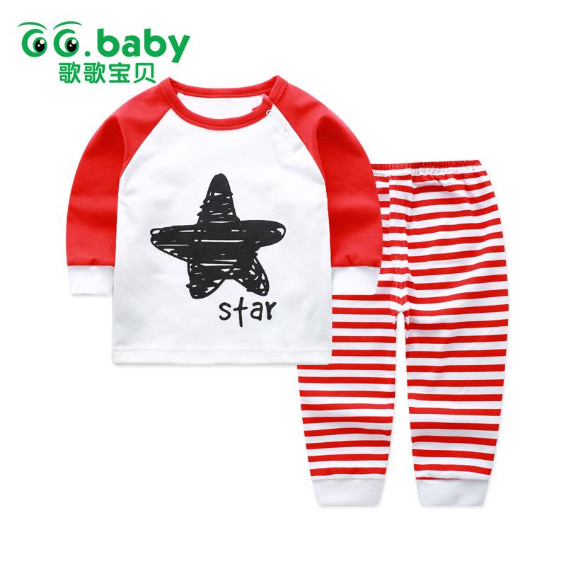 歌歌宝贝婴儿内衣纯棉套装0-1岁男女宝宝秋衣秋裤春秋新生儿衣服