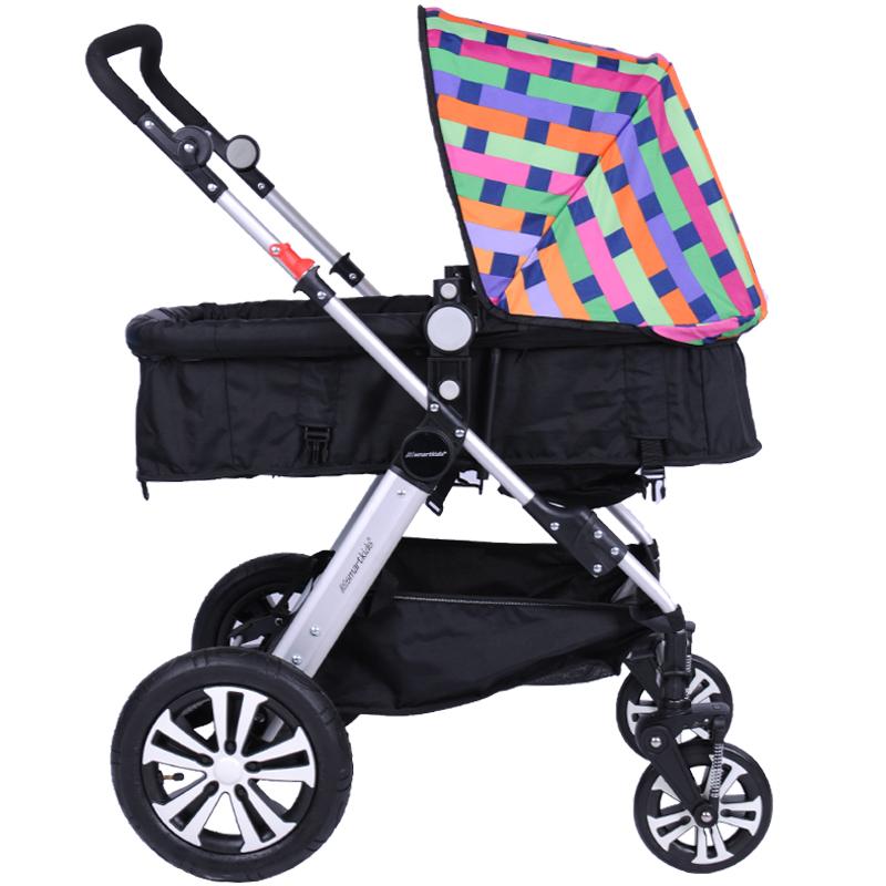 高景观婴儿车四季通用避震双向折叠宝宝推车轻便折叠