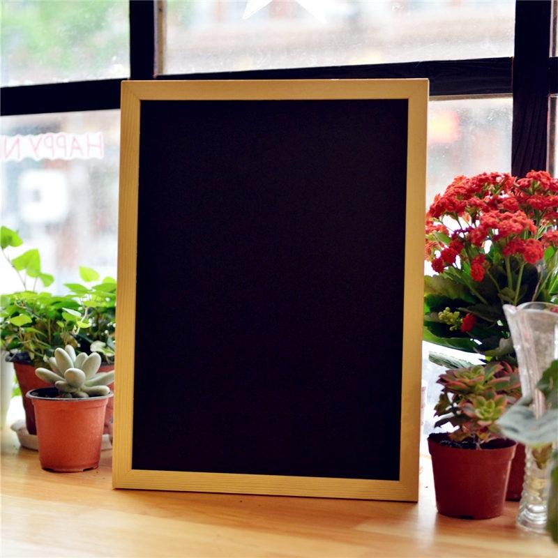 挂式黑板广告板留言板展示牌公告栏写字板咖啡店铺菜单4060小新品