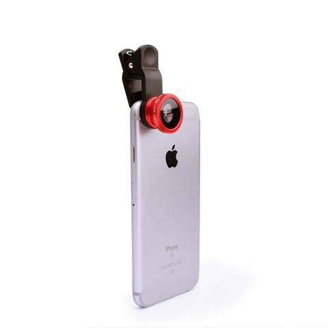 手机单反手机镜头长焦鱼眼广角自拍神器手机外置摄像头便携微单反