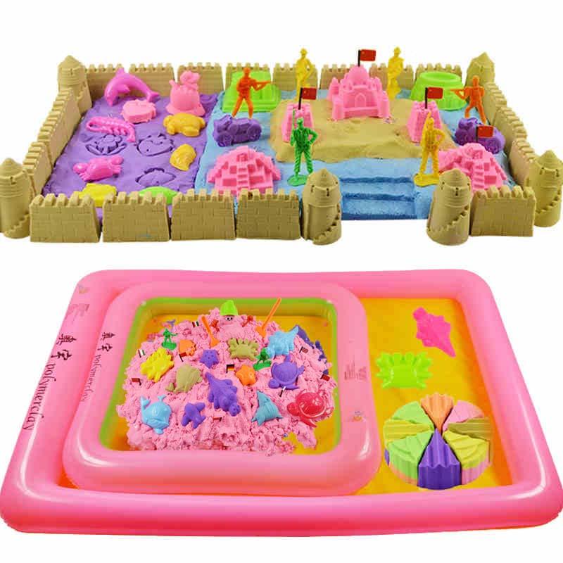 聚划算 奥宇太空儿童沙子套装玩具魔力动力安全无毒,券后【24.50元】包邮秒杀