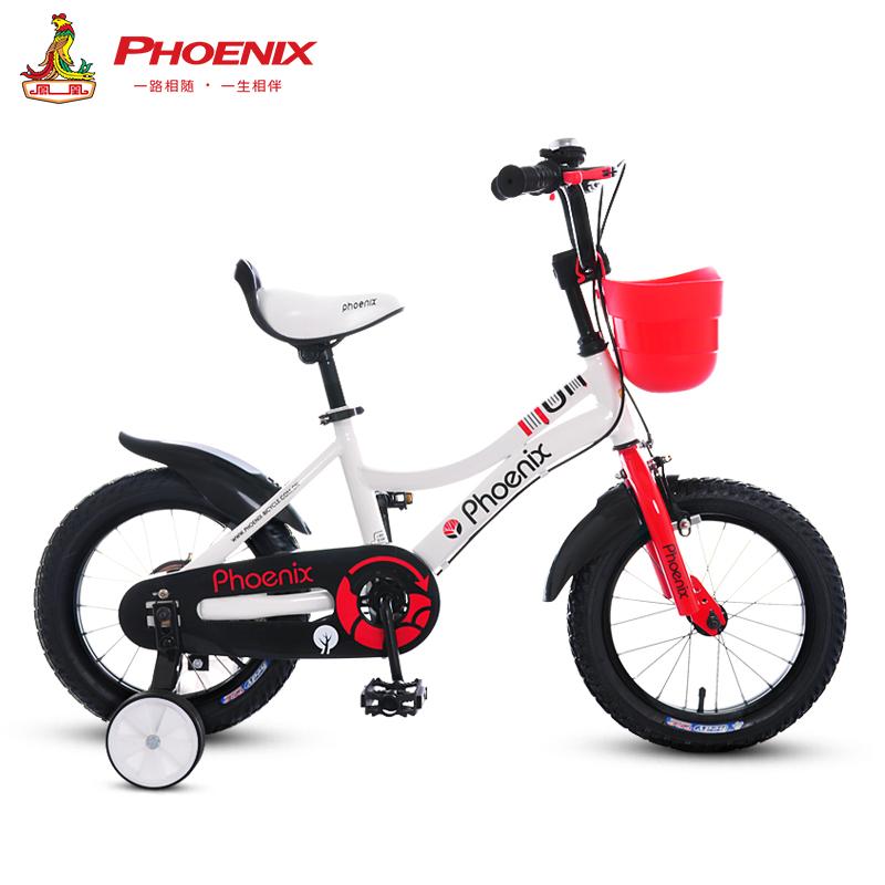 聚划算 凤凰儿童自行车男女孩单车童车,券后238.00元包邮